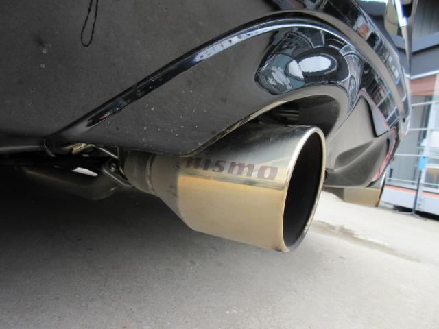 バージョンST 6速MT・SSR19アルミ・テイン車高調・ニスモマフラー・ワンオーナー・オレンジハーフレザーシート・シートヒーター・・スモークフイルム・ニスモタワーバー・ETC・・3連メーター・純正OPリアスポイラー(26枚目)