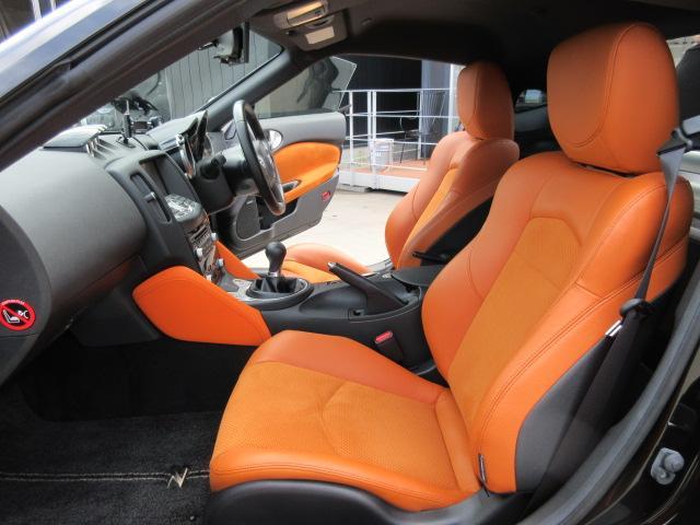 バージョンST 6速MT・SSR19アルミ・テイン車高調・ニスモマフラー・ワンオーナー・オレンジハーフレザーシート・シートヒーター・・スモークフイルム・ニスモタワーバー・ETC・・3連メーター・純正OPリアスポイラー(32枚目)