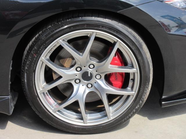 バージョンST 6速MT・SSR19アルミ・テイン車高調・ニスモマフラー・ワンオーナー・オレンジハーフレザーシート・シートヒーター・・スモークフイルム・ニスモタワーバー・ETC・・3連メーター・純正OPリアスポイラー(70枚目)
