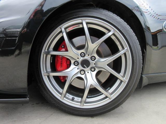 バージョンST 6速MT・SSR19アルミ・テイン車高調・ニスモマフラー・ワンオーナー・オレンジハーフレザーシート・シートヒーター・・スモークフイルム・ニスモタワーバー・ETC・・3連メーター・純正OPリアスポイラー(72枚目)