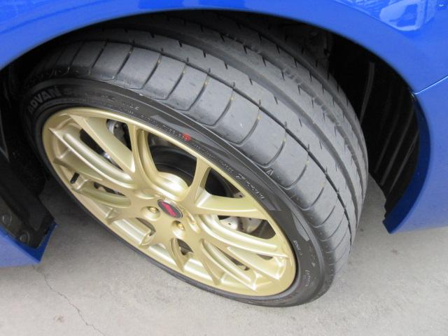 STI EJ20ファイナルエディション・最終型・555台限定抽選車・特別仕様車・ワンオーナー車・走行500km・レカロ半革・大型リアスポ・専用19ゴールドアルミ・8型ナビTV・フロント&左サイド・Bカメラ(51枚目)
