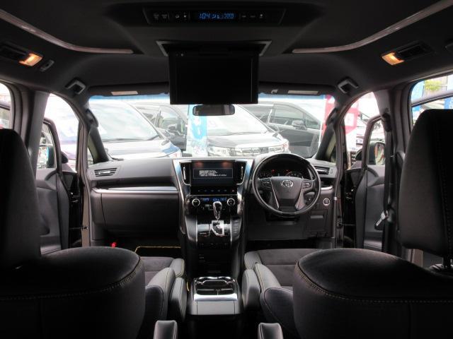 2.5Z Aエディション ゴールデンアイズ ・1オーナー・純正10型ナビTV・12型フリップダウンモニター・モデリスタフルエアロ&マフラー&グリル・置くだけ充電・100W電源・半革・助手席&2列目オットマン・電動ゲート・両側自動ドア・18アルミ(34枚目)