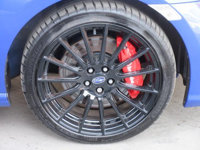 STIスポーツ ・6速MT・ワンオーナー・カロッツェリアナビ・フルセグTV・ワインハーフレザーシート・シートヒーター・ブレンボキャリパー・STiタワーバー・STi18アルミ・デイライナー・クルコン・Rスポイラー(38枚目)