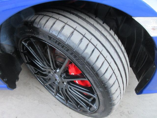 STIスポーツ ・6速MT・ワンオーナー・カロッツェリアナビ・フルセグTV・ワインハーフレザーシート・シートヒーター・ブレンボキャリパー・STiタワーバー・STi18アルミ・デイライナー・クルコン・Rスポイラー(39枚目)