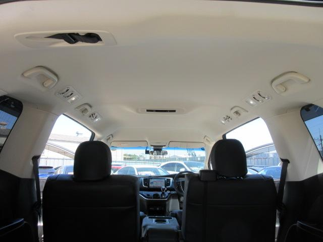 アブソルート・ホンダセンシング ・後期型 純正9型ギャザーズナビ フルセグTV Bカメラ ETC 革調シートカバー 運転支援システム CMBS 両側自動ドア LEDライト LEDフォグ 純正18アルミ サンシェード ホンダセンシング(44枚目)