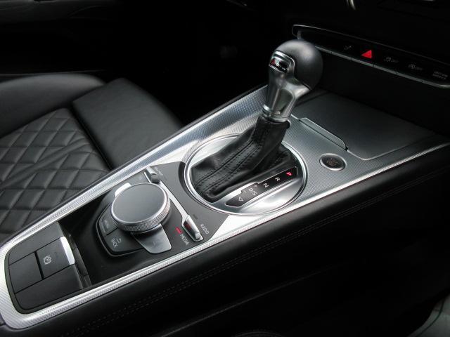 2.0TFSI クワトロ 4WD・黒本革シート バーチャルコックピット マトリクスLEDライト 給油口カバー 純正ナビ フルセグTV Bカメラ シートヒーター リアウイング可変式 リアコーナーソナー ワンオーナー(26枚目)