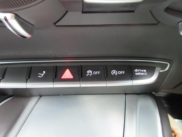 2.0TFSI クワトロ 4WD・黒本革シート バーチャルコックピット マトリクスLEDライト 給油口カバー 純正ナビ フルセグTV Bカメラ シートヒーター リアウイング可変式 リアコーナーソナー ワンオーナー(29枚目)