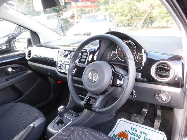 フォルクスワーゲン VW アップ! ハイアップ バックソナー キーレス シートヒーター クルコン