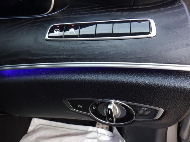 E200 アバンギャルド スポーツ 1オーナー radarsafety 衝突軽減 追走クルコン スマートキー ドラレコ 純正ナビ フルセグTV バックカメラ 360度ビュー メモリーシート シートヒーター LED ETC パドルシフト(36枚目)