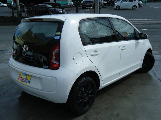 フォルクスワーゲン VW アップ! ムーブ アップ! 1年保証 5ドア ETC ホワイト
