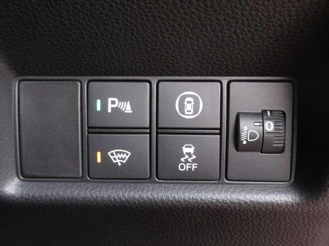 ホーム 当社元デモカー 9インチ画面メモリナビVXU-205FTi センシング ETC リアカメラ LEDライト USBジャック1 フルセグ サイドカーテンエアバッグ コンビシート(13枚目)