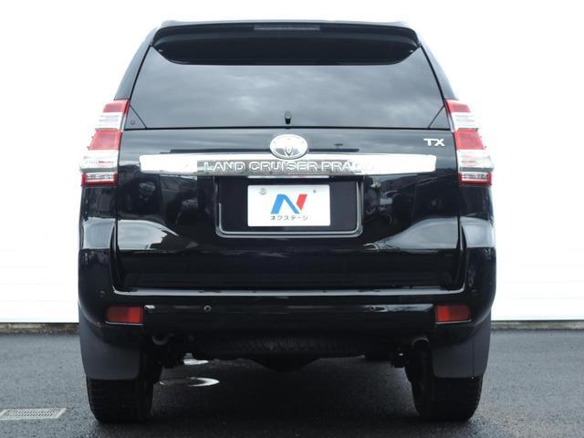 トヨタ ランドクルーザープラド TX 禁煙車 純正LEDヘッドライト 純正17インチアルミ