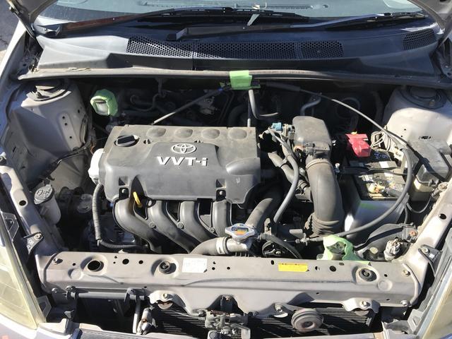 トヨタ ヴィッツ RS エアロ 社外15インチAW 記録簿付