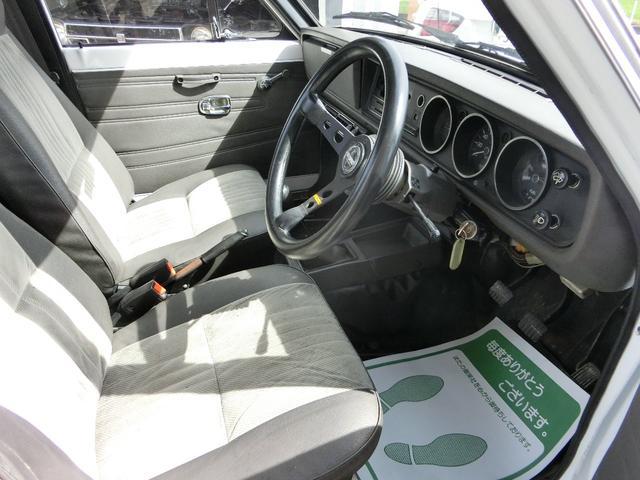 日産 サニートラック DX クーラー付 チンスポ DATSUNゲート 全塗装済