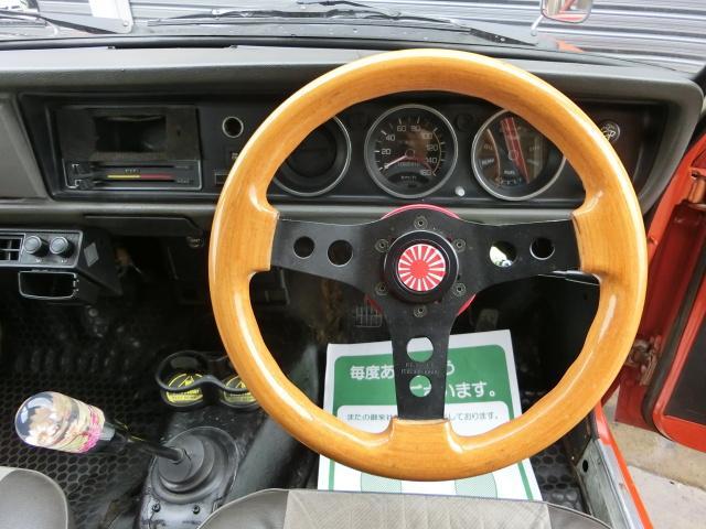日産 サニートラック 丸目フェイス クーラー付き ワタナベ NOX適合 全塗装済