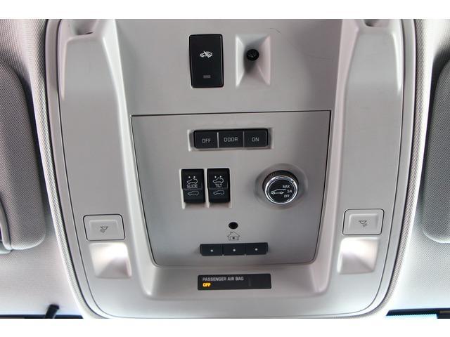 フロント席上部、サンルーフ電動リアゲートスイッチ