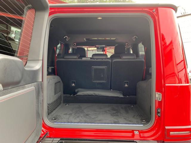 G350d マヌファクトゥーアエディション ディーゼル 4WD ジュピターレッド 限定100台・登録済み未使用車(23枚目)