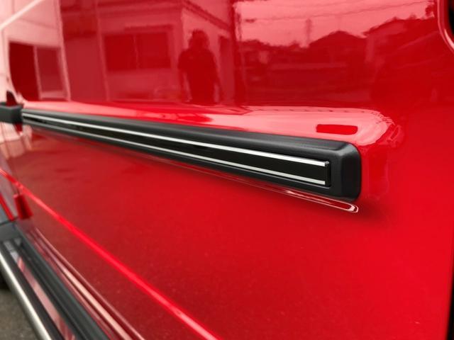 G350d マヌファクトゥーアエディション ディーゼル 4WD ジュピターレッド 限定100台・登録済み未使用車(24枚目)