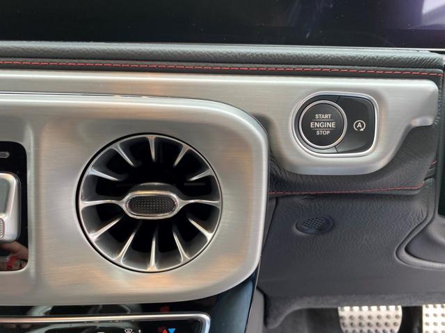 G350d マヌファクトゥーアエディション ディーゼル 4WD ジュピターレッド 限定100台・登録済み未使用車(34枚目)