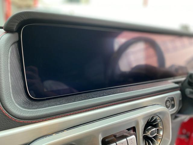 G350d マヌファクトゥーアエディション ディーゼル 4WD ジュピターレッド 限定100台・登録済み未使用車(35枚目)