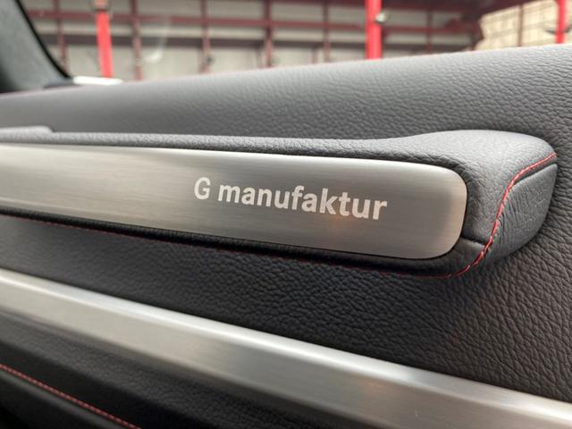 G350d マヌファクトゥーアエディション ディーゼル 4WD ジュピターレッド 限定100台・登録済み未使用車(38枚目)