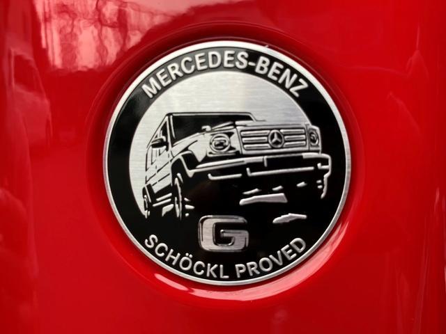 G350d マヌファクトゥーアエディション ディーゼル 4WD ジュピターレッド 限定100台・登録済み未使用車(50枚目)