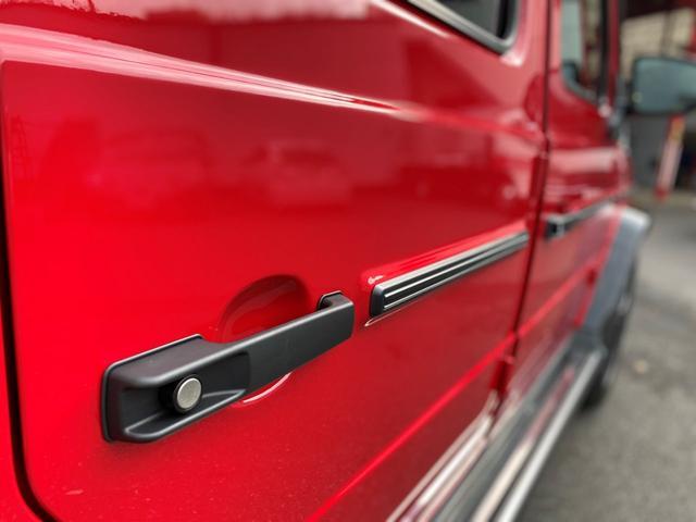 G350d マヌファクトゥーアエディション ディーゼル 4WD ジュピターレッド 限定100台・登録済み未使用車(55枚目)