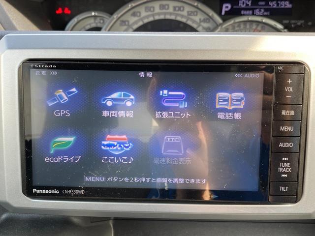 X SA スマートアシスト 左電動スライドドア 社外SDナビ フルセグTV 記録簿H27.29.R1(16枚目)
