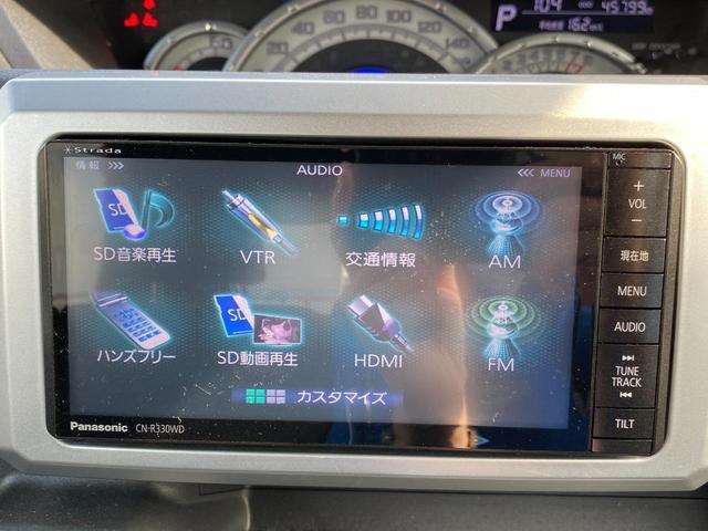 X SA スマートアシスト 左電動スライドドア 社外SDナビ フルセグTV 記録簿H27.29.R1(17枚目)