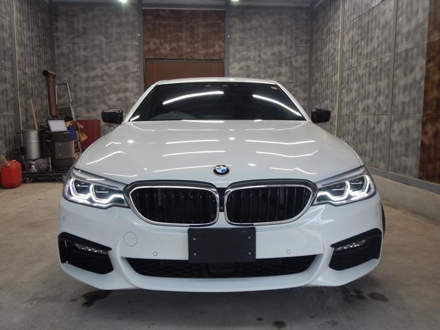 BMWの伝統あるアッパーミドルレンジ、第7世代目となる「5シリーズ」530IMスポーツ入庫致しました。