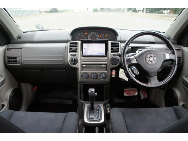 日産 エクストレイル GT 1オーナ車 HDDナビ サンルーフ レカーロシート