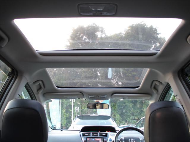 S Lセレクション パノラマルーフ ALPINE BIG-Xナビ 地デジ Bカメラ DVD再生 Bluetooth接続 スマートキー2個 AA/C 社外グリル LEDヘッド 純正17AW  フォグ エアロ Dバイザー(4枚目)