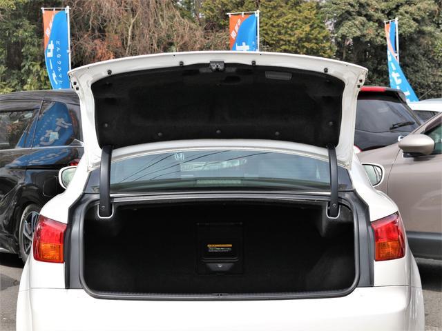 IS250 バージョンS RAYS19インチAW BLITZ車高調 純正HDD Bカメラ 音楽録音 CD スマートキープッシュスタート 本革巻きH ステコン クルコン AA/C パドルシフト 電動シート シートメモリー ETC(28枚目)