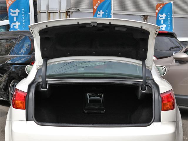 IS250 バージョンS RAYS19インチAW BLITZ車高調 純正HDD Bカメラ 音楽録音 CD スマートキープッシュスタート 本革巻きH ステコン クルコン AA/C パドルシフト 電動シート シートメモリー ETC(29枚目)