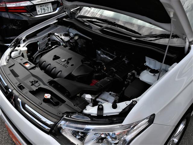 24Gナビパッケージ HID フォグ 純18inAW 純ナビ 地デジ Bカメラ 電動Bドア プッシュスタート スマートキー 本革巻きH パドルシフト ステコン AA/C パートタイム4WD ETC(20枚目)