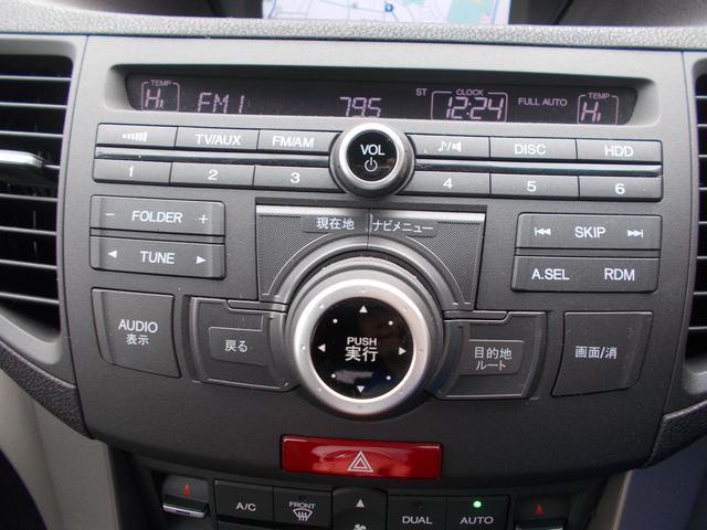 ホンダ アコードツアラー 24TL スポーツスタイル HDDナビ HID ETC ハーフレ