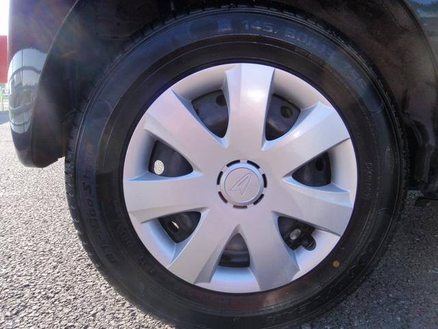 タイヤには スチールホイルが付いています