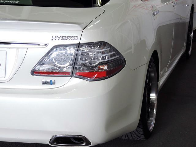 トヨタ クラウンハイブリッド スペシャルED HDD地デジ革調カバーRスポイラ社外19AW