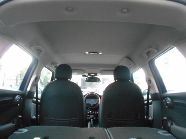 クーパー ワンオーナー 禁煙車 純正HDDナビ ルームミラー一体型ETC HIDライト スマートキー2個 チェック柄サイドミラーカバー 純正サイドミラー有り 毎年分ディーラー記録簿(25枚目)