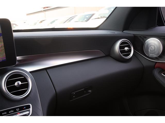 メルセデス・ベンツ M・ベンツ C450 AMG 4マチック エクスクルーシブP 赤革
