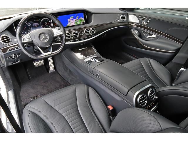 S550ロング AMGライン ショーファーPKG 1オーナー(9枚目)