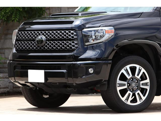 クルーマックス SR5 5.7V8 4WD 2018yモデル TRDスポーツ&アップグレードP セーフティセンス LEDヘッドライト 20インチAW BILSTEIN フロントセパレートシート ナビ フルセグ バックカメラ(11枚目)