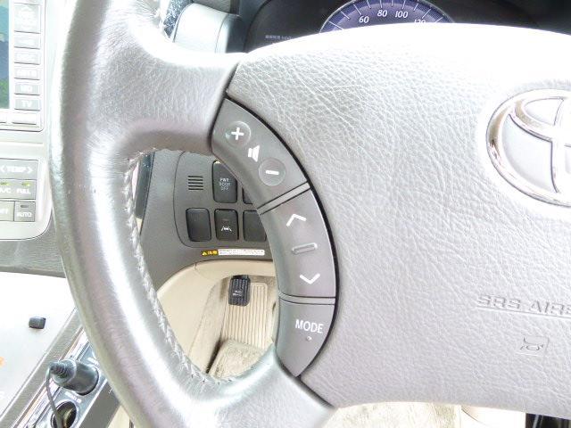トヨタ アルファードハイブリッド ロイヤルラウンジ 後期 HDDナビ フルセグ リアモニター