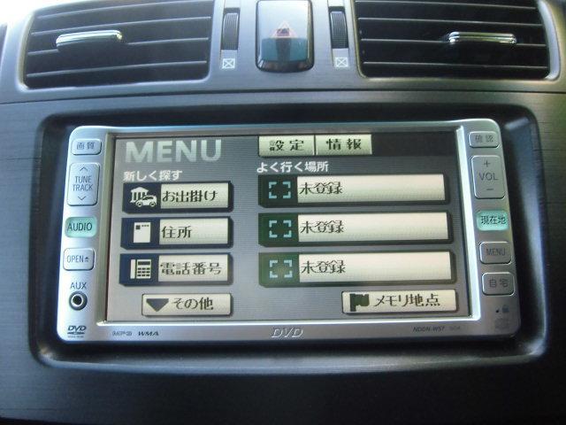 トヨタ マークXジオ 240G SDナビ フルセグ バックカメラ ETC