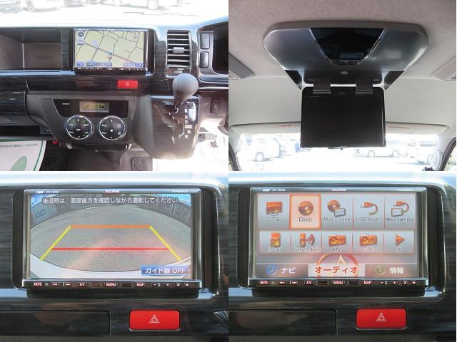 GL 3型 HDDナビ ALPINEフリップダウン バックカメラ MTS16AW ダウンブロック キセノン 電動スライドドア ETC スライド窓 Wエアバック ホワイトレタータイヤ ワンオーナー(7枚目)