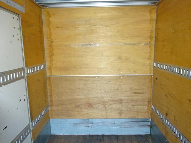 いすゞ エルフトラック 2t パワーゲート付アルミバン 標準幅 ロング 左ドア