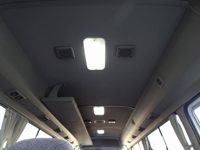 マイクロバス ロングGXターボ 29人乗り リヤ観音式扉(15枚目)
