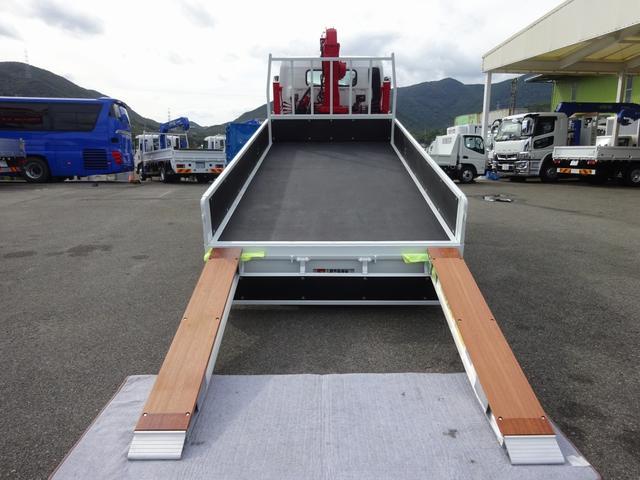 セルフクレーン 4段ユニック ワイド 超ロング 3t積み(7枚目)