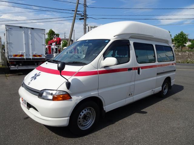 グランビア 患者輸送車 2WD 7人乗り 固定式ベッド付(3枚目)