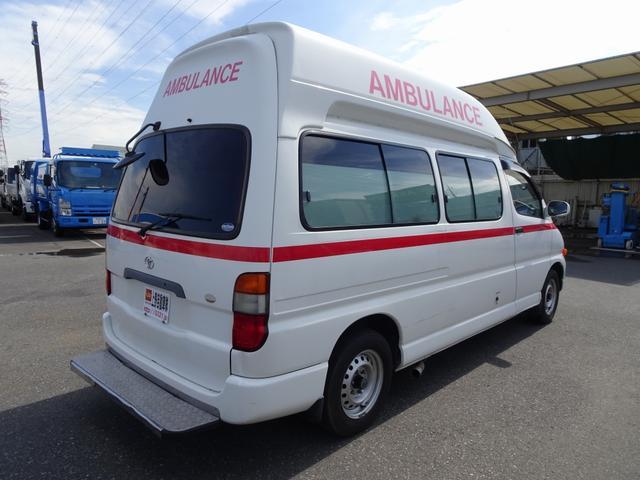 グランビア 患者輸送車 2WD 7人乗り 固定式ベッド付(4枚目)